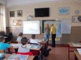 Μάθημα Γεωγραφίας σε ειδική αίθουσα